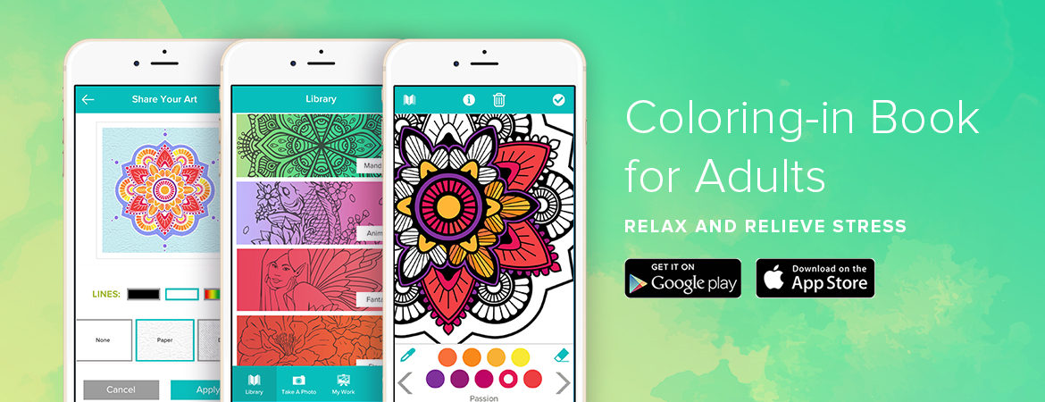 Coloring In Book for Adults